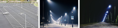 LED Carpark and Street Lights