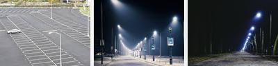 LED Carpark and Street Lights