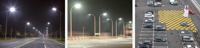 LED Street and Carpark Lights